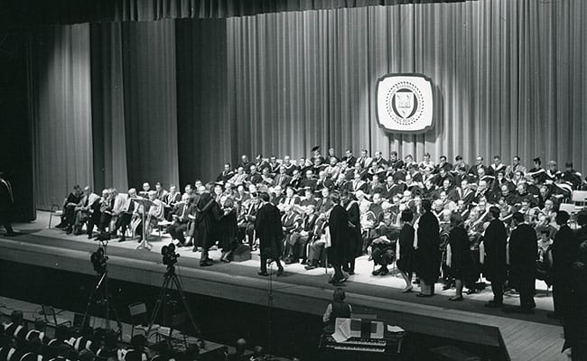 First U of S Convocation