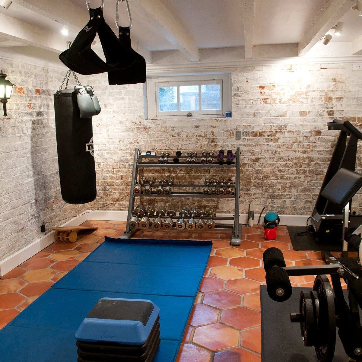 Tile Flooring For A Home Gym