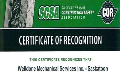 Certificate of Recognition (COR®)